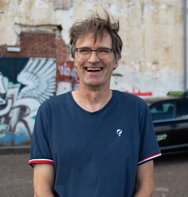 Rijinstructeur Geert Ottens